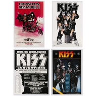 KISS Poster Collection #2,  (set of four)