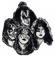 KISS Group Patch