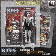 "KISS MONSTER Figures - Gene Simmons Demon 8"" (bloody variant)"