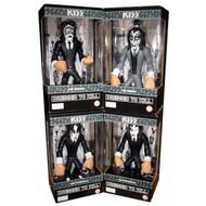 KISS Figures - Gruntz Set of 4 - DRESSED TO KILL
