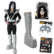 KISS Ace Spaceman COMPLETE DESTROYER Costume with Boots, Wig, Makeup