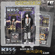 "KISS MONSTER Figures - Paul Stanley Starchild 8"" (feather outfit variant)"