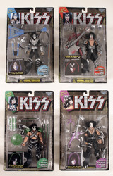 KISS McFarlane Figures - Black Solo Records