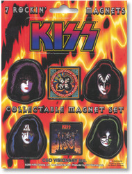 KISS Magnets - Die Cut Set SMALL