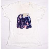 KISS T-Shirt - Asylum iron-on white (washed) size M