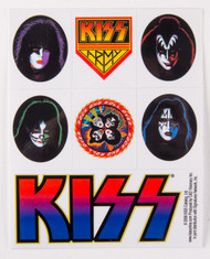 KISS Assorted Clear Sticker Set