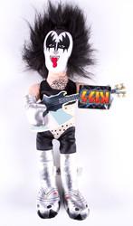 KISS Figure - Plush Doll, Gene Simmons