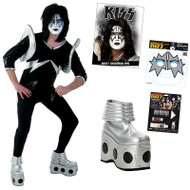 KISS Ace Spaceman COMPLETE ALIVE Costume with Boots, Wig, Makeup