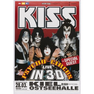 KISS Poster - German Psycho Circus Berlin '99