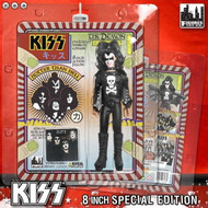 """KISS First Album 1973-Style Figures - 8"""" Gene Simmons Package and Tongue Variant"""