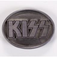KISS Belt Buckle - Pewter Logo 1996