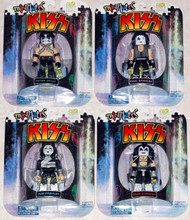 KISS Figures - Mini Mates, set of 4 (singles)
