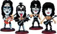 KISS Headliners Figures - Destroyer outfits, set of 4