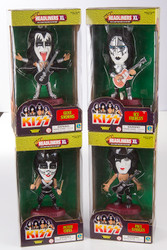 KISS Headliners Figures - Love Gun outfits set of 4, (red base)