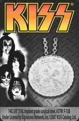 KISS Necklace - RnR Over