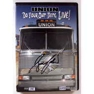 Bruce Kulick Union Do your Own Thing Live! DVD - signed by Bruce
