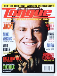 KISS Magazine - Gene Simmons Tongue Spring '03, Jack Nicholson