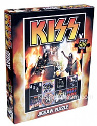 KISS Jigsaw Puzzle - Albums