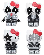 KISS Hello Kitty Vinyl Figures - set of 4