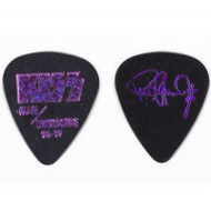 KISS Guitar Pick - Purple prism on black, Paul