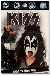KISS Costume Wig - Gene CHILD