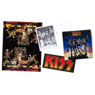 KISS '70s Promo Card and Sticker Set