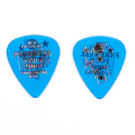 KISS Guitar Pick - Ace Frehley City Pick, Philadelphia (blue)