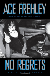 Ace Frehley - No Regrets, (hard cover)