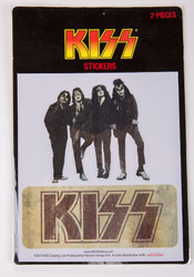 KISS Sticker Set - Dressed to Kill