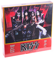 KISS Jigsaw Puzzle - Reunion RED