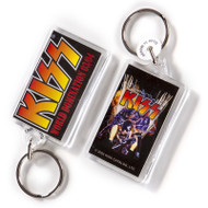 KISS Keychain - World Domination