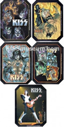 KISS Tin Set  - Comic, Set of 5