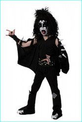 KISS Costume - SCREENPRINT CHILD Gene
