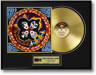 KISS Gold Record - Rock and Roll Over LP