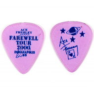 KISS Guitar Pick - Ace Frehley City Pick, Indianapolis (violet)