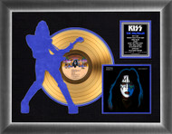 KISS Gold Record - Ace Solo Silhouette