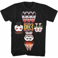 KISS T-Shirt - Mirrored Image