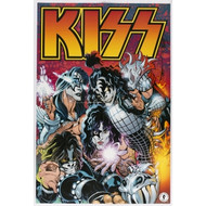 KISS Poster - Comic (folded)