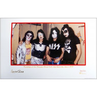 KISS Lithograph - Bleeker St. Loft 1973 - Signed by Lydia Criss