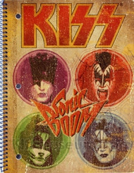 KISS Spiral Notebook - Sonic Boom