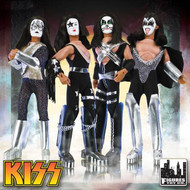 "KISS Retro Action Figure Dolls - 8"" (set of 4)"