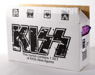KISS McFarlane Alive Figures - Set of 4 with box, (dent)
