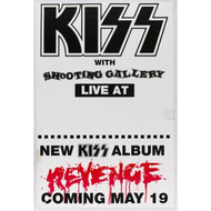 KISS Poster - Revenge w/ Shooting Gallery Coming May 19 (5/10)