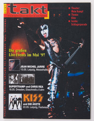 KISS Magazine - Takt, Germany 4/97