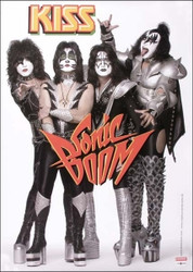 KISS German Sonic Boom Poster #1