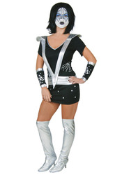 KISS Sexy Women's Halloween Costume - SPACEMAN