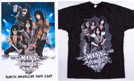 "KISS ""Alive 35"" Meet and Greet Shirt and Poster (size M)"