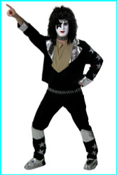 KISS Adult Costume - Paul SCREENPRINT