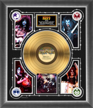KISS Gold Record - KISS Alive! Photo Montage