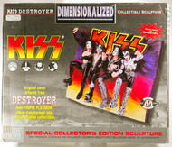 KISS Dimentionalized Destroyer Wall Plaque